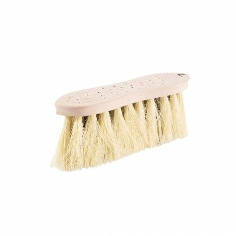 Horze Wood Back Firm Brush with Natural Mix Bristles - 8 Cm