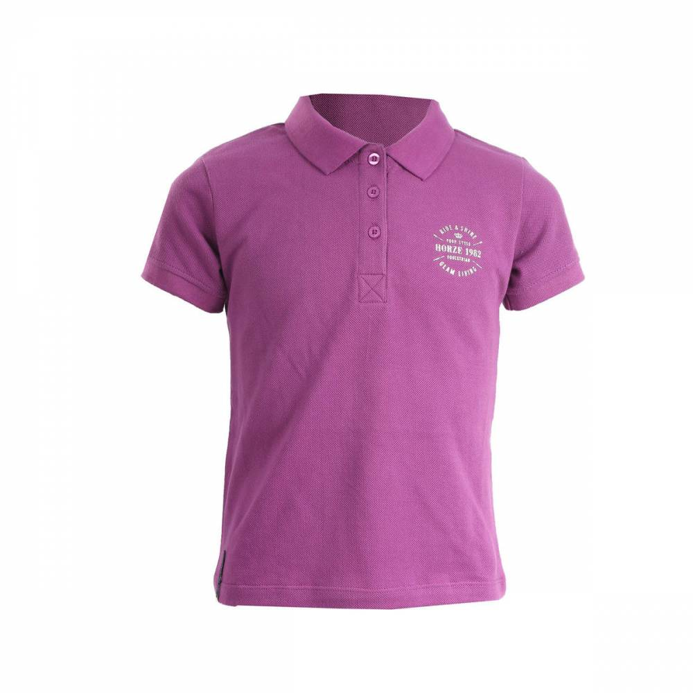Horze Junior Holly Polo Shirt Girls Equestriancollections