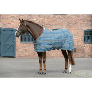 Saxon Polypropelene Stable Blanket - Grey/Blue