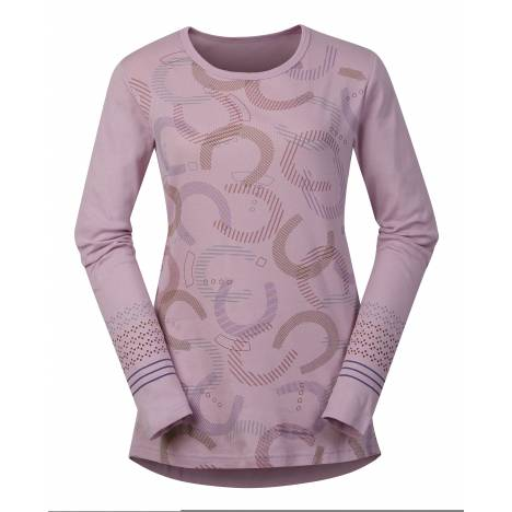 Kerrits Hoof Print Long Sleeve Tee-Ladies