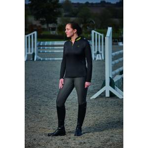Dublin Shadowfax CDT Long Sleeve Zip Thru Top - Ladies