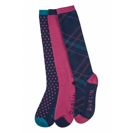 Dublin Linear Socks - Ladies
