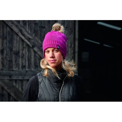 Dublin Sparkle Bobble Beanie - Ladies