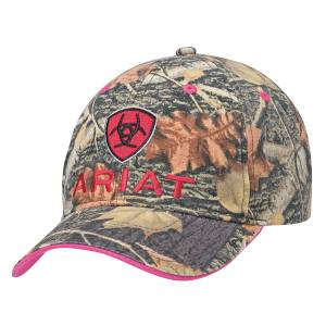 Ariat Ladies Velcro Back Mossy Oak Cap