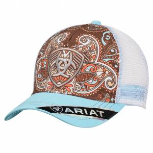 Ariat Ladies Velcro Back Paisley Western Cap