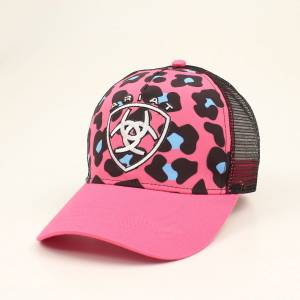 Ariat Ladies Velro Mesh Back Leopard Cap