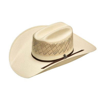 Ariat Mens 20X SS/Americana 2 Cord Chocolate Band Western Hat