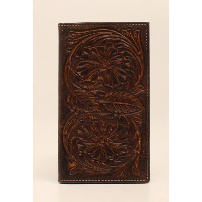 Ariat Mens Rodeo All Over Floral Embossed Wallet