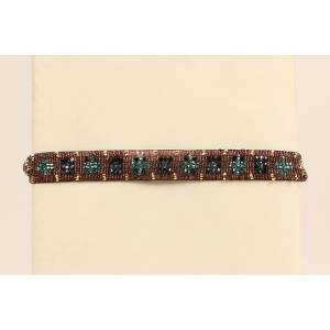 Blazin Roxx Beaded Starburst Headband