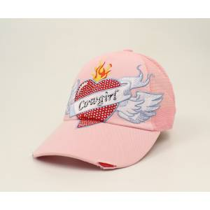 Blazin Roxx Ladies Heart Tattoo Cap