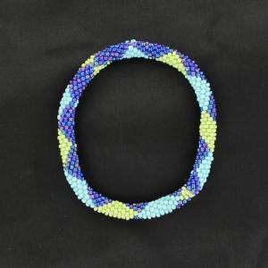 Blazin Roxx Patterned Beaded Bracelet