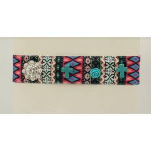 Blazin Roxx Tribal Fabric Headband