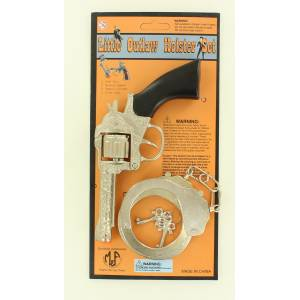 Little Outlaw Kids Pistol/Handcuff Toy Set