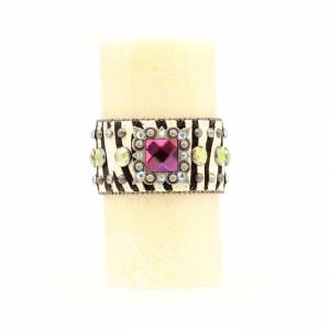 Western Moments Boxed Candle With Zebra Bling Wrap