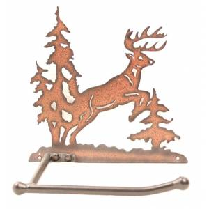 Western Moments Deer Toilet Paper Holder