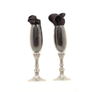 Western Moments Silverado Champagne Flute Set