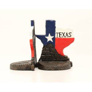 Western Moments Texas Bookends Set