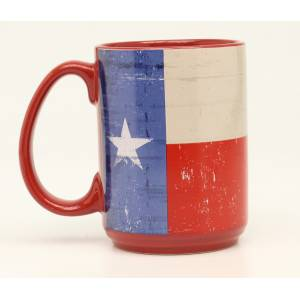Western Moments Texas Flag Mug