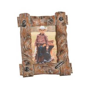 Western Moments Tree Trunk Frame