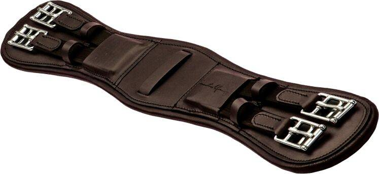 M Toulouse Dressage Monoflap Girth Padded Leather