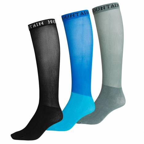 Mountain Horse Multi Color Competition Socks - 3 Pack