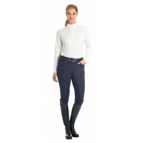 Ovation Marilyn Shapely Knee Patch Breeches - Ladies