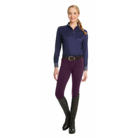 Ovation Equinox 3-Season Full Seat Breeches - Ladies
