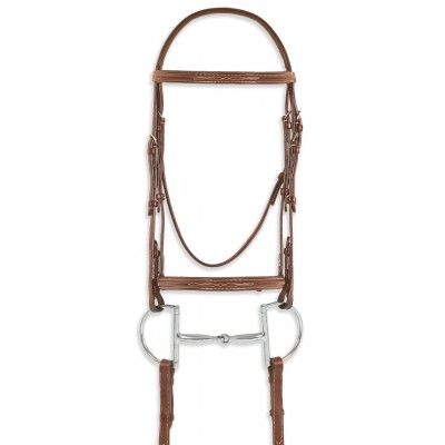 Pessoa Pro Fancy Stitch Raised Bridle