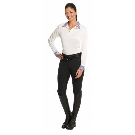 Ovation Evercool Long Sleeve Showshirt - Ladies