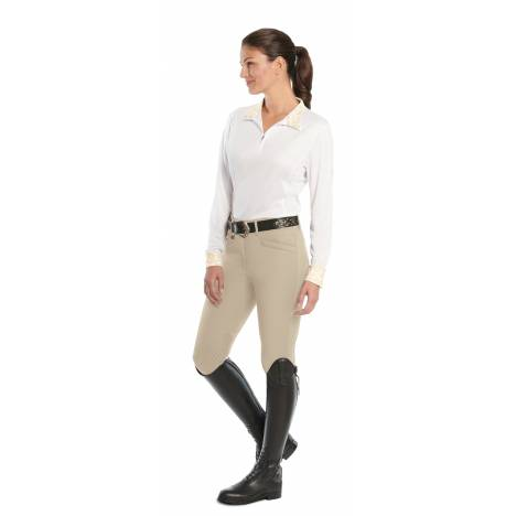 Ovation Destiny Knee Patch Super-X Grip Breeches - Ladies