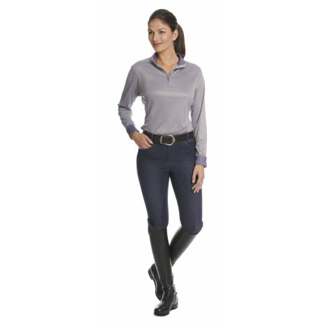 Ovation Sienna Denim Grip Full Seat Breeches - Ladies