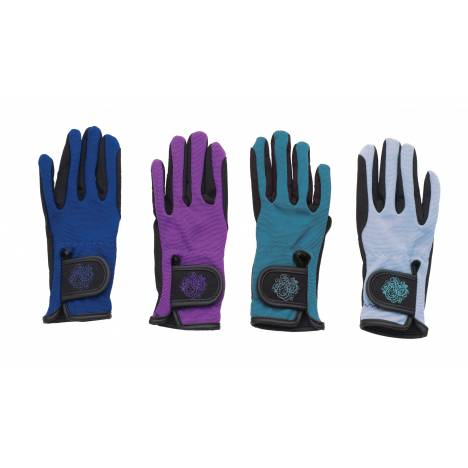 Ovation Horseshoe Gloves - Kids