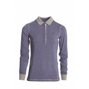 Horseware Enya Long Sleeve Technical Polo- Ladies