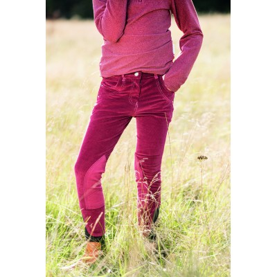 Horseware Knitted Cord Breeches- Kids