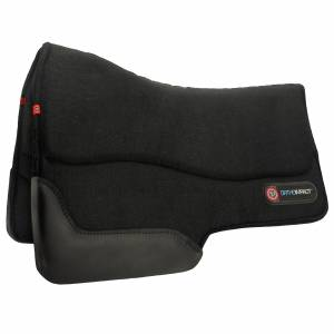 Matrix T3 Extreme Pro-Impact Felt Performance Barrel Saddle High Profile Pad