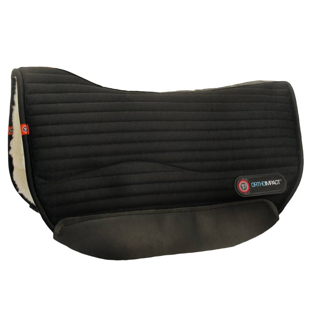Matrix T3 Flexform High Impact Round Skirt Saddle Pad With Insert Protection