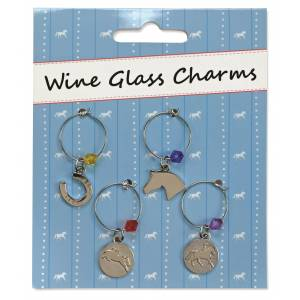 Kelley Wine Glass Charms - set of 4