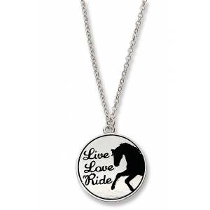 Kelley Live, Love, Ride Necklace