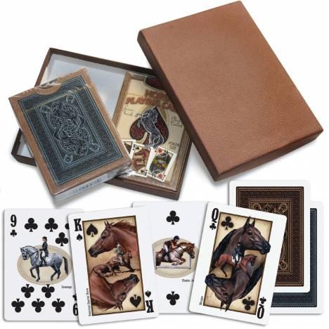 Kelley Horse Playing Cards 2 Deck Gift Box