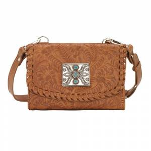 American West Texas Two Step Small Crossbody Bag/Wallet