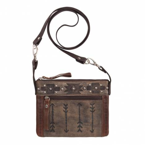 American West Trail Rider Hip/Crossbody Bag - Arrows