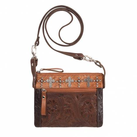 American West Trail Rider Hip/Crossbody Bag - Crosses