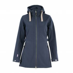 Horze Freya Long Soft Shell Jacket-Ladies