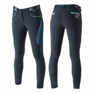 B Vertigo Xandra BVX Silicone Knee Patch Breeches - Ladies
