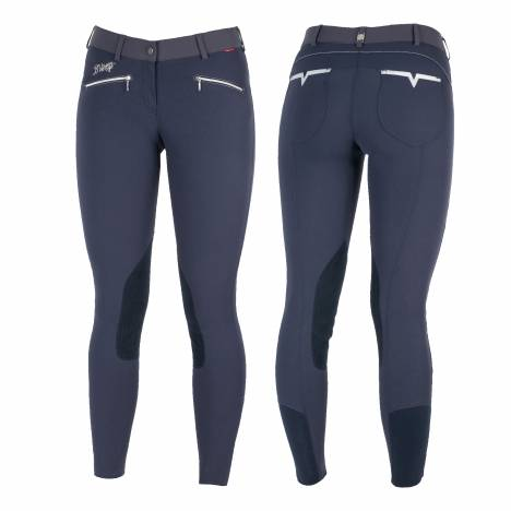 B Vertigo Claire Leather Knee Patch Breeches - Ladies