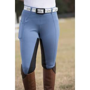 Fits All Season Full Seat Breeches - Ladies - Blue