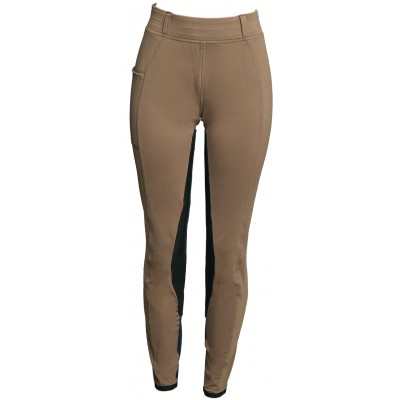 Fits Performax All Season Pull-On Leather Full Seat Breech - Ladies - Hazelnut