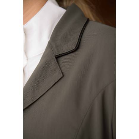 FITS Zephyr II Mesh Hunt Show Coat- Ladies, Charcoal Pn