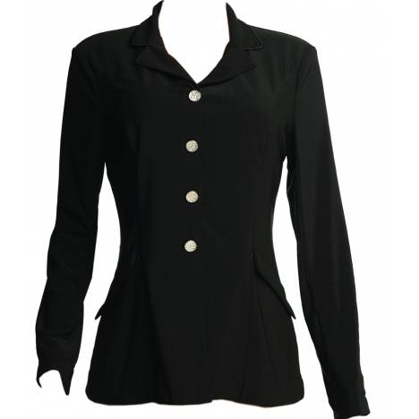 FITS Zephyr Mesh Dressage Show Coat- Ladies, Black