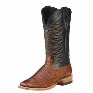 Ariat Fire Catcher - Mens -  Tan Caiman Belly /Black